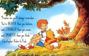 pooh bear brave